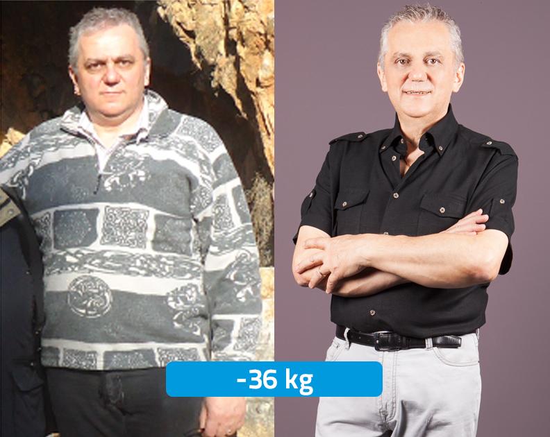 Carlo Aldegheri prima e dopo